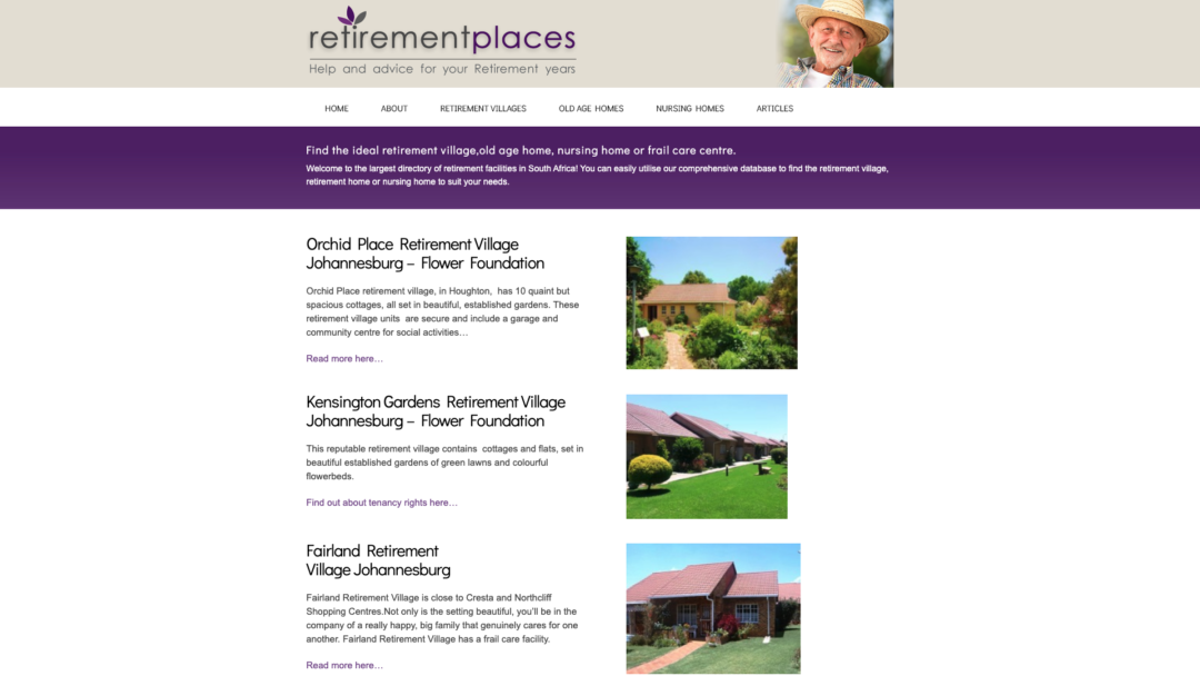 Retirement Places