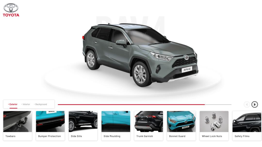Toyota Configurator